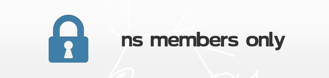 members only header