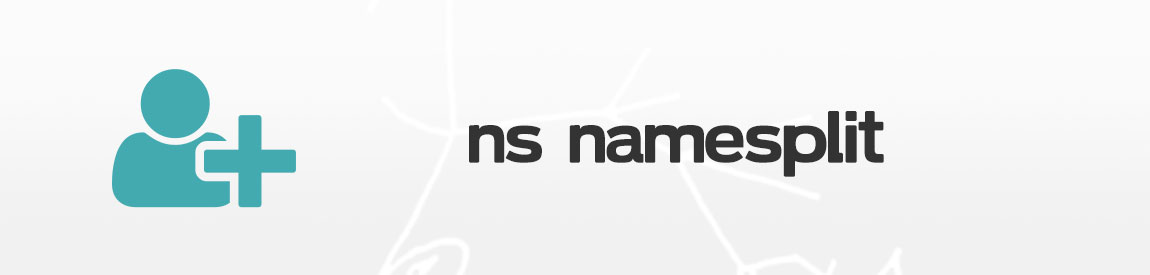nsnamesplit header