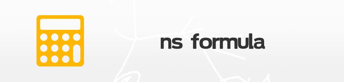 NS Formula