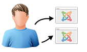 How to sync users in Joomla! 2.5